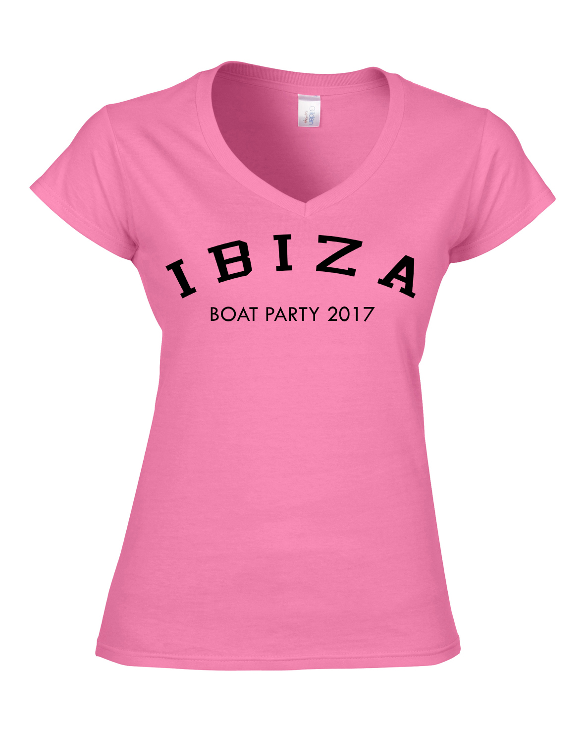 3ef82126 Simple Ibiza Tee. from £12. Splatter Holiday | Girls Holiday | Group T- Shirts