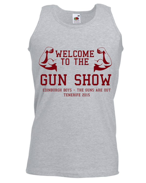 a1be8c40 Gun Show Holiday | Lads Holiday | Group T-Shirts